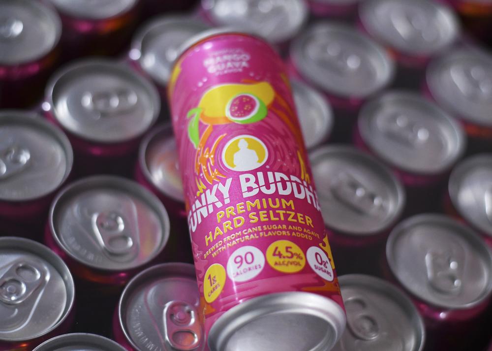 Hard seltzer cans